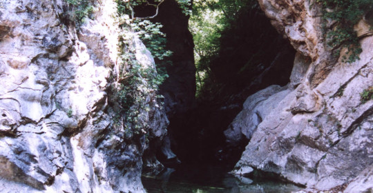 Le pont naturel de Ponadieu