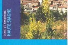 Carte IGN top25 région Haute Siagne